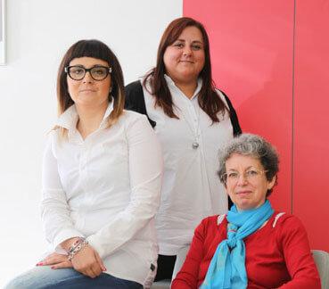 Luisa Carvalho, Danielle Brack & Tania Pereira