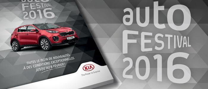 Autofestival 2016 - Offres Kia