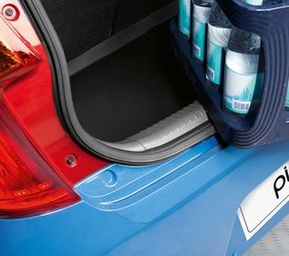 Protection de pare chocs arrière transparent Picanto 2012