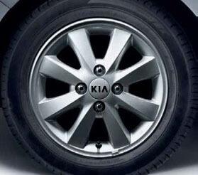 Roue d'hiver aluminium 16560 Yokohama Picanto 2012 sans TPMS