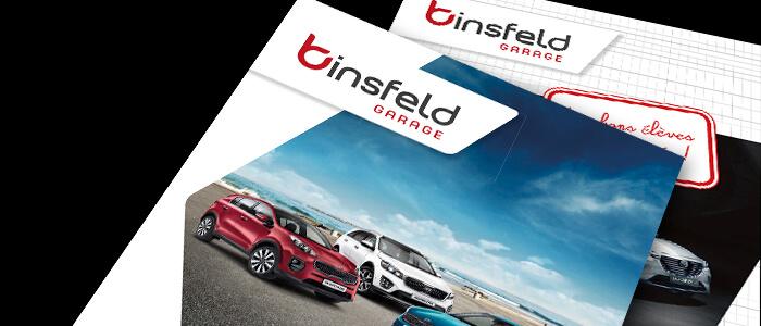 La rentrée chez Binsfeld