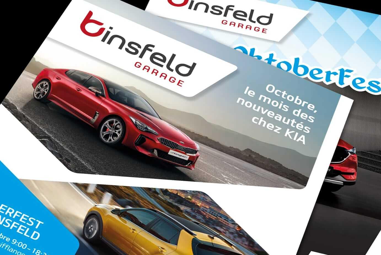 Nouveau folder Binsfeld MAZDA/KIA