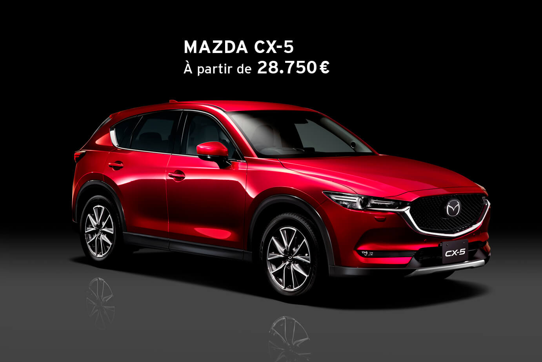 Mazda CX-5 aux conditions spéciales 2020