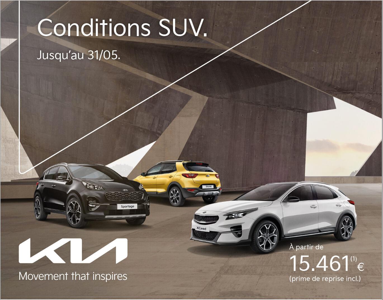 SUV Days jusqu'au 31 mai 2021